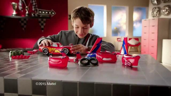 Cars Design & Drive Lightning McQueen TV Spot, 'Pit Crew'