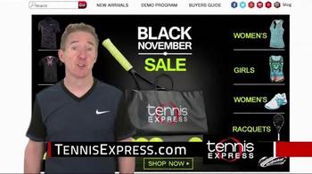 Tennis Express Black November Sale TV Spot, 'Holiday Gifts' - Thumbnail 2