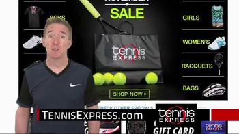 Tennis Express Black November Sale TV Spot, 'Holiday Gifts' - Thumbnail 4
