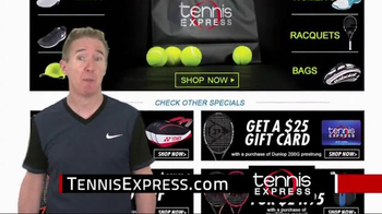 Tennis Express Black November Sale TV Spot, 'Holiday Gifts' - Thumbnail 6