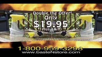 Baste & Store TV Spot, 'Grilling Out' - Thumbnail 7