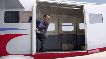 Intel TV Spot, 'Jim Parsons Takes to the Sky' - 3076 commercial airings