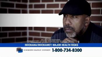 Simmons Hanly Conroy TV Spot, 'Invokana and Invokamet' - Thumbnail 1
