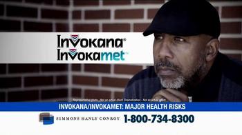 Simmons Hanly Conroy TV Spot, 'Invokana and Invokamet' - Thumbnail 2