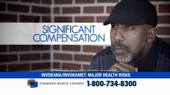 Simmons Hanly Conroy TV Spot, 'Invokana and Invokamet' - Thumbnail 3