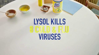 Lysol Wipes TV Spot, 'Arts and Crafts' - Thumbnail 7