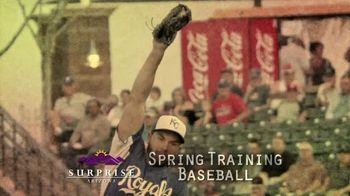 Arizona Office of Tourism TV Spot, 'Surprise: Spring Training'