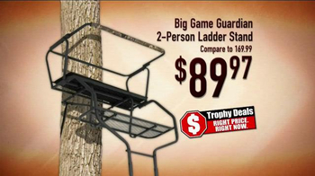 Bass Pro Shops Trophy Deals TV Spot, 'Buck Lure and Ladder Stand' - Thumbnail 6
