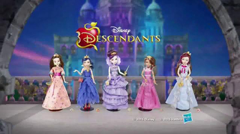 Disney Descendants Coronation Dolls TV Spot, 'Baddest of Them All' - Thumbnail 8