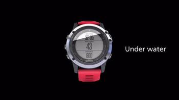 Garmin Fitness Fenix 3 TV Spot, 'Under Water' - Thumbnail 5