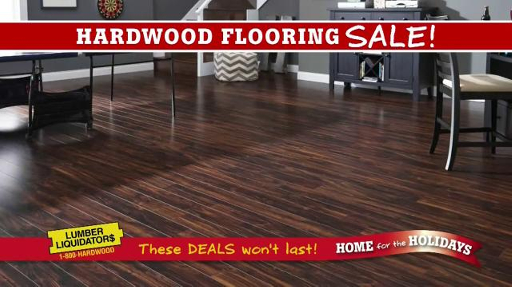 Lumber Liquidators Hardwood Flooring Sale Tv Commercial Set For