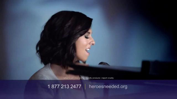 Humane Society TV Spot, 'Be a Hero' Featuring Christina Grimmie - Thumbnail 9