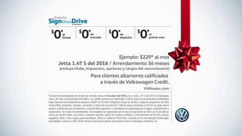 Volkswagen Evento Sign Then Drive TV Spot, 'Tememporada festiva' [Spanish] - Thumbnail 9