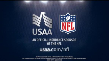 USAA TV Spot, 'Coach Ron Rivera Takes Risks: Bad Date' - Thumbnail 8
