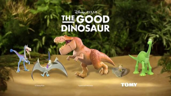 The Good Dinosaur Action Figures TV Spot, 'Galloping Butch' - Thumbnail 9