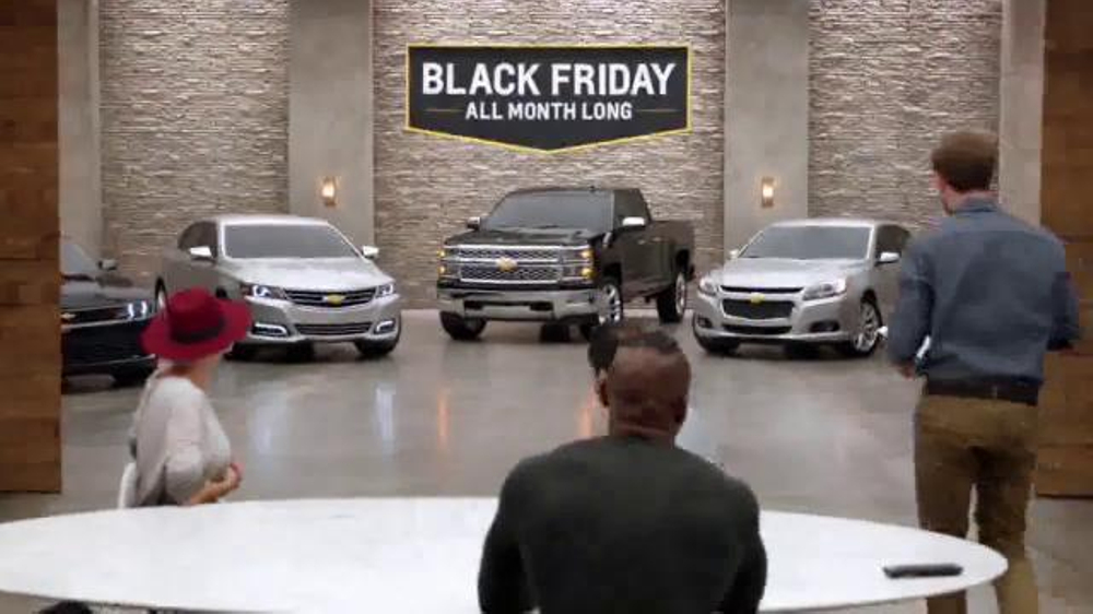 Chevrolet Black Friday Sale TV Commercial, 'It's Back ...