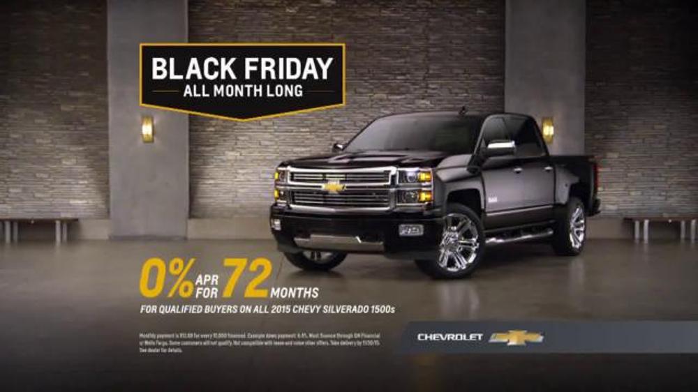 Chevrolet Black Friday Sale TV Commercial, 'It's Back ...