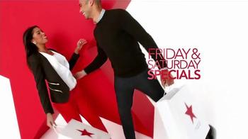 Macy's Super Saturday Sale TV Spot, 'Gold Earrings and Designer Shirts' - Thumbnail 1