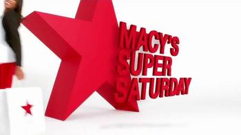 Macy's Super Saturday Sale TV Spot, 'Gold Earrings and Designer Shirts' - Thumbnail 7