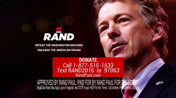 Rand Paul for President TV Spot, 'Standing Strong' - Thumbnail 6
