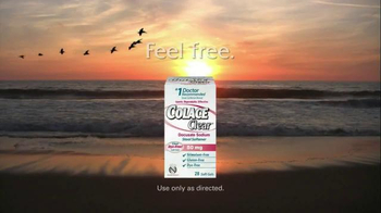Colace Clear TV Spot, 'Feel Free' - Thumbnail 3