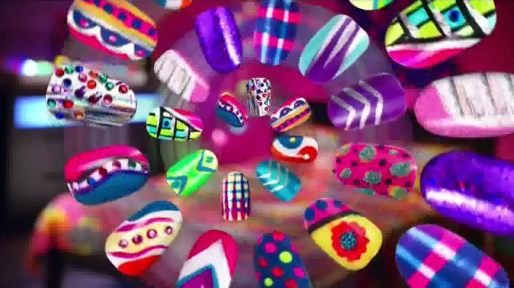 Crazy lights nail design studio commercial disney channel crazy lights nail design studio commercial disney channel creativity ispot prinsesfo Image collections