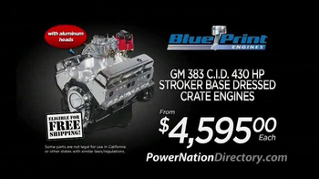 PowerNation Directory TV Spot, 'Engines, Calipers, Wheels and Lift Systems'