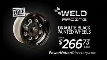 PowerNation Directory TV Spot, 'Engines, Calipers, Wheels and Lift Systems' - Thumbnail 4