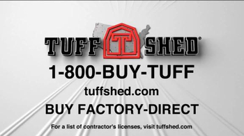 Tuff Shed Year-End Clearance Sale TV Spot, 'Changing Weather' - Thumbnail 7