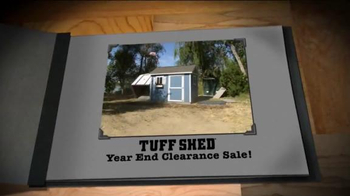 Tuff Shed Year-End Clearance Sale TV Spot, 'Changing Weather'