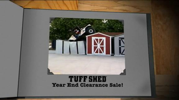 Tuff Shed Year-End Clearance Sale TV Spot, 'Changing Weather' - Thumbnail 6