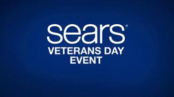 Sears Veterans Day Event TV Spot, 'Don't Go It Alone: Appliances' - Thumbnail 6