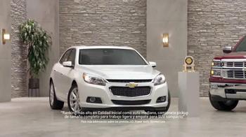 Chevrolet TV Spot, 'Premio de J.D. Power: tres vehículos' [Spanish] - Thumbnail 8