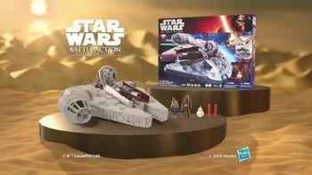Star Wars Battle Action Millennium Falcon TV Spot, 'Surprise the Enemy'