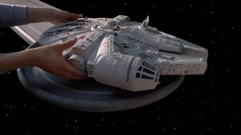Star Wars Battle Action Millennium Falcon TV Spot, 'Surprise the Enemy' - Thumbnail 2
