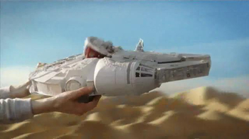 Star Wars Battle Action Millennium Falcon TV Spot, 'Surprise the Enemy' - Thumbnail 3