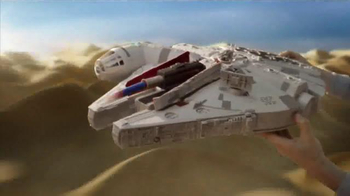 Star Wars Battle Action Millennium Falcon TV Spot, 'Surprise the Enemy' - Thumbnail 6