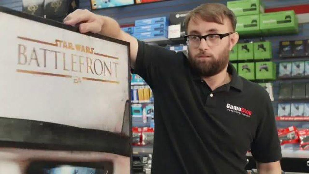GameStop Star Wars: Battlefront Pre-Order TV Commercial, 'Poster Wars'