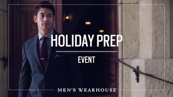 Men's Wearhouse Holiday Prep Event TV Spot, 'Start Shopping Early'