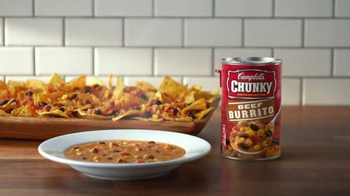 Campbell's Chunky Beef Burrito Soup TV Spot, 'The Flavor You Love' - Thumbnail 8