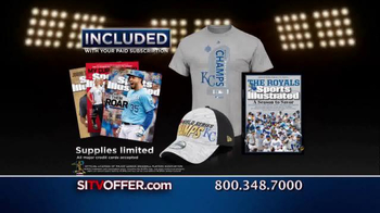 Sports Illustrated TV Spot, 'Kansas City Royals Commemoration'