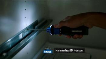 Hammerhead 4V Lithium Rechargeable Screwdriver TV Spot, 'Voltage Detection' - Thumbnail 2