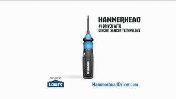 Hammerhead 4V Lithium Rechargeable Screwdriver TV Spot, 'Voltage Detection' - Thumbnail 5