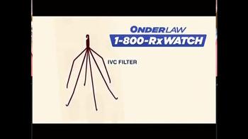 Onder Law Firm TV Spot, 'IVC Filter' - Thumbnail 1