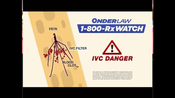 Onder Law Firm TV Spot, 'IVC Filter' - Thumbnail 3