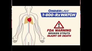 Onder Law Firm TV Spot, 'IVC Filter' - Thumbnail 6