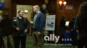 Ally Bank TV Spot, 'Facts of Life: Reunion' - Thumbnail 4