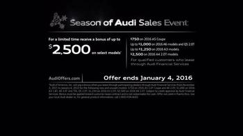 The Season of Audi Sales Event TV Spot, 'Mystery' - Thumbnail 6