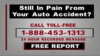 T. Joy Auto Accident TV Spot, 'Don't  Be A Victim Again' - Thumbnail 1