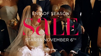 David's Bridal End of Season Sale TV Spot, 'Designer Styles and Bridesmaid'